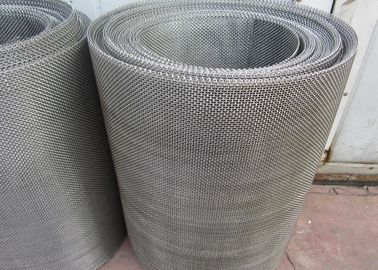 Food Grade Stainless Steel Mesh Screen For Sieving / Plastic Seperation